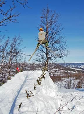 VETERAN: : Fjorårets vinner Vidar Eggiman krysser skia og håper på det beste.