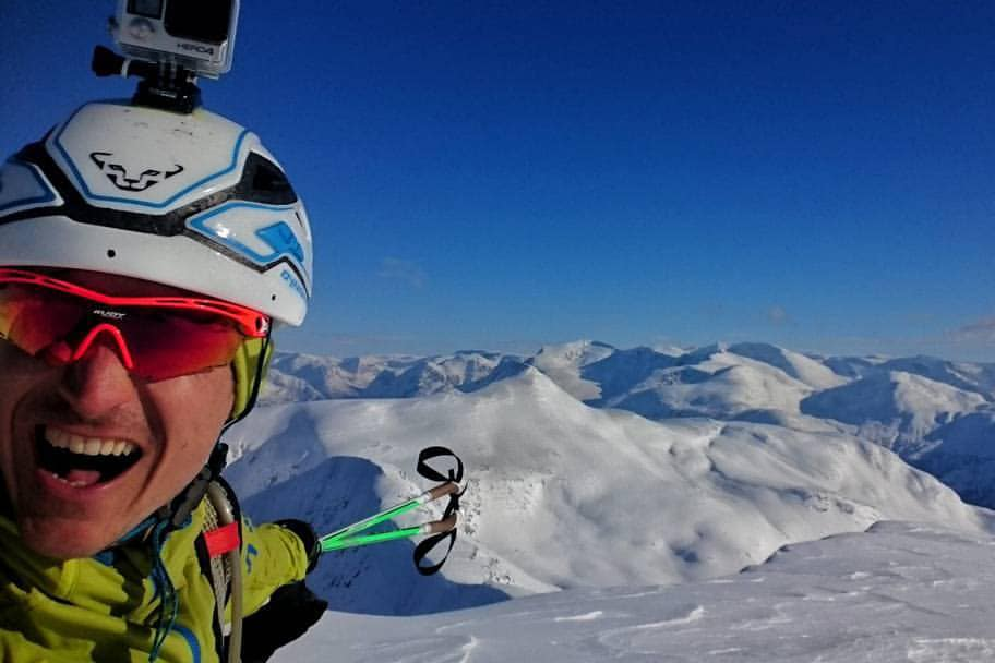 VANT: Lars Erik Skjervheim vant randokonkurransen på Stryn. Foto: Privat