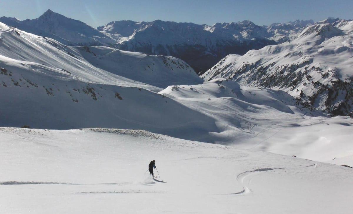 SKREDBLOGG: Maria Leganger skriver om skredutfordringer i italienske fjell. Foto: Privat