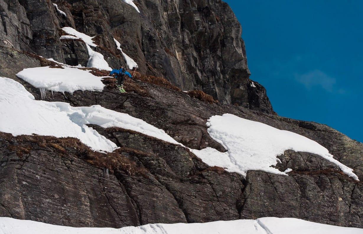 FINALE I RØLDAL: Tradisjonen tro avsluttes Norgescupen i frikjøring med Røldal Freeride Challenge. Bilde: Andreas Kalvig