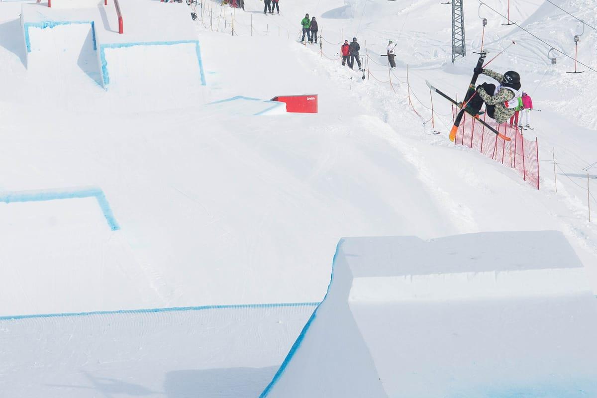 FEM KONKURRANSER: Verdenscupen i slopestyle skal avgjøres på fem i stedet fr to konkurranser neste år. Felix Usterud –her fra verdenscupavslutningen i Sveits- vant i fjor. Foto: Tore Meirik