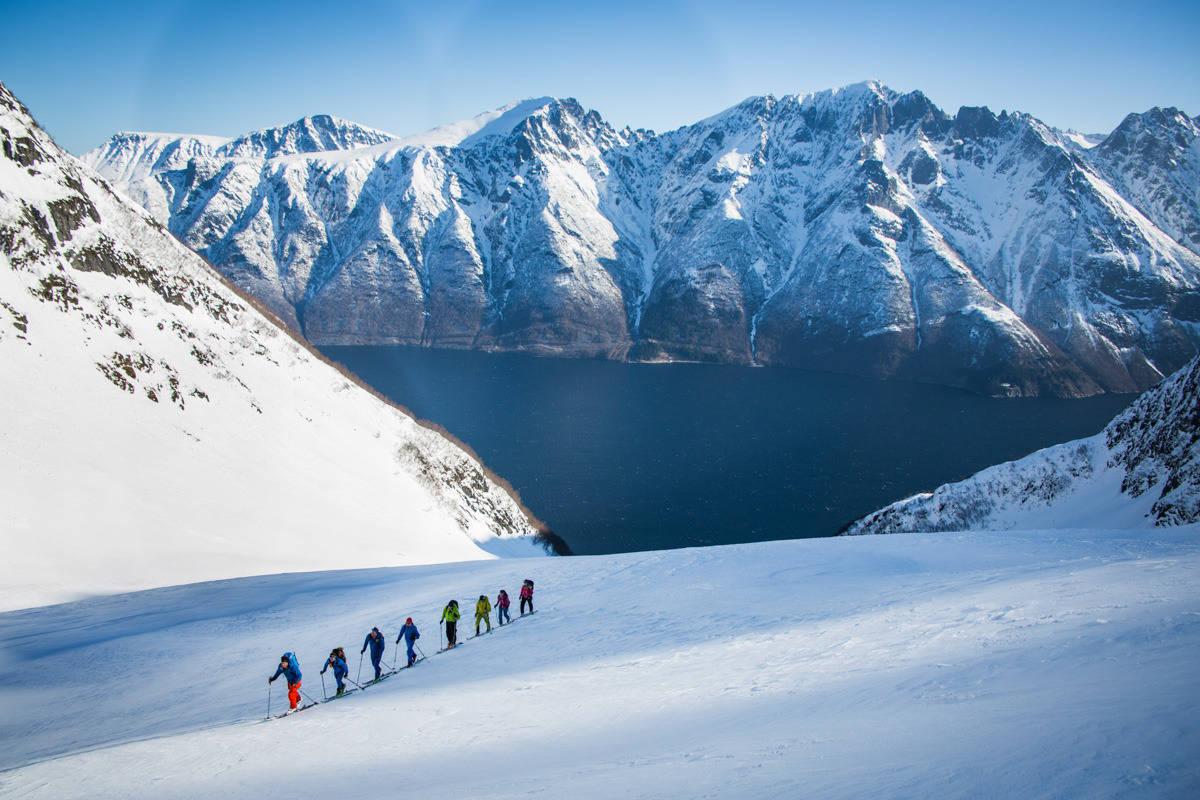 VAKKERT: Dette er bare en av turene på High Camp Sunnmøre. Foto: Håvard Myklebust
