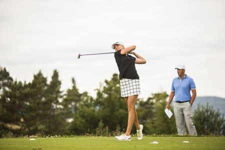 Turneringas eneste pro –Caroline Martens –endte på 7. plass.