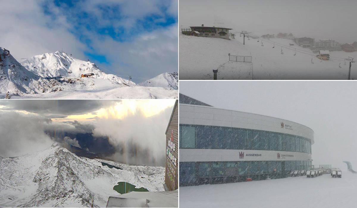 SOME: Det koker i sosiale medier- snøen har falt i Alpene!