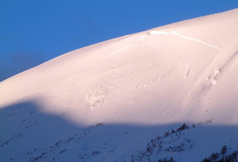 DYSTER SKREDSTATISTIKK: Sist vinter ble den verste på mange år melder NGI. Bildet viser et snøskred i Drivdalen i Sør-Trøndelag i 2006.