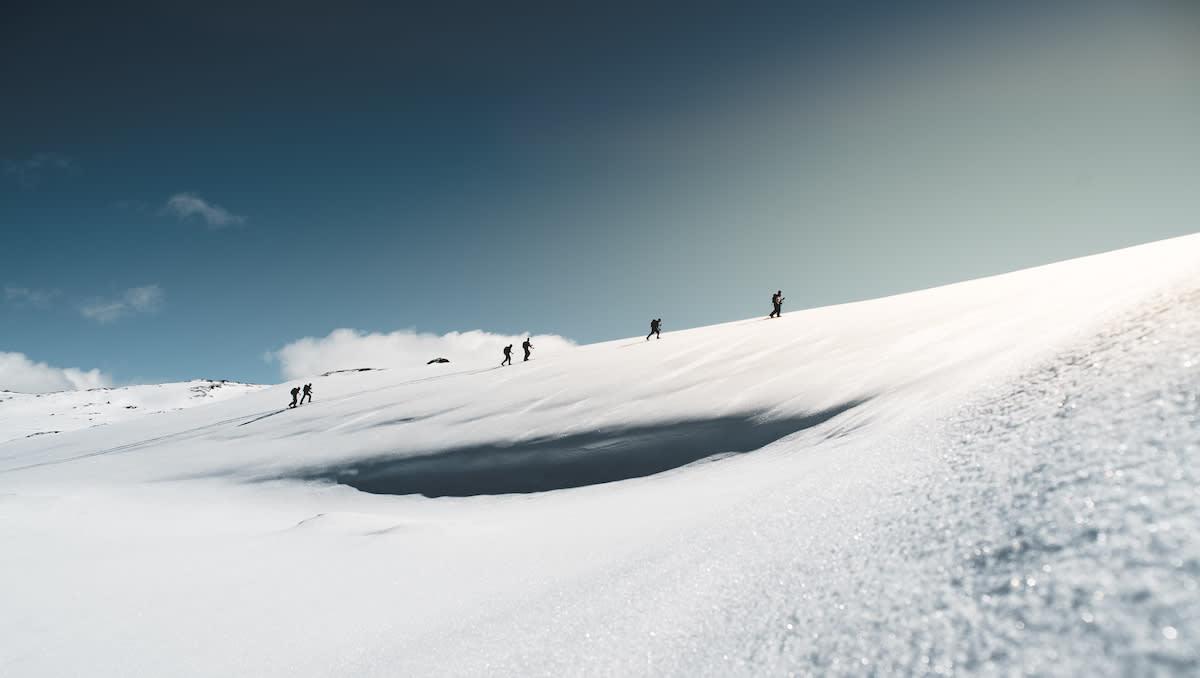 Toppturisme er populært også i Voss, som er vertskap for skredkonferansen i november. Foto: Jon Hunnålvatn Tøn