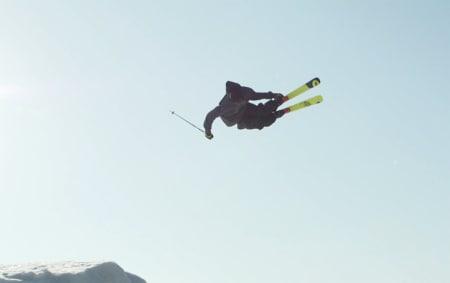 STIL: Magnus Solheim er muligens første nordmann som gjorde trippelcork på ski. Men han er også en fyr med fet stil.