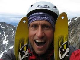 En glad gutt: Toppturentusiast Espen Nordahl smiler når han finner skiføre i juli.