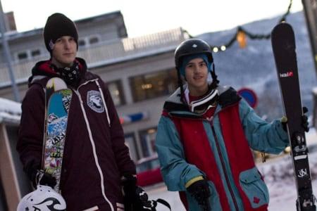 IKKE TEAMKOMPISER: Even Sigstad (til venstre) og Jesper Tjäder er ikke lenger lagkamerater på Sweet, men kompiser er de fortsatt. Foto: HP Hval