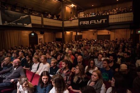 FULLT: Stavangeren ble fyllt til randen under Film Tour. Foto: Bård Basberg