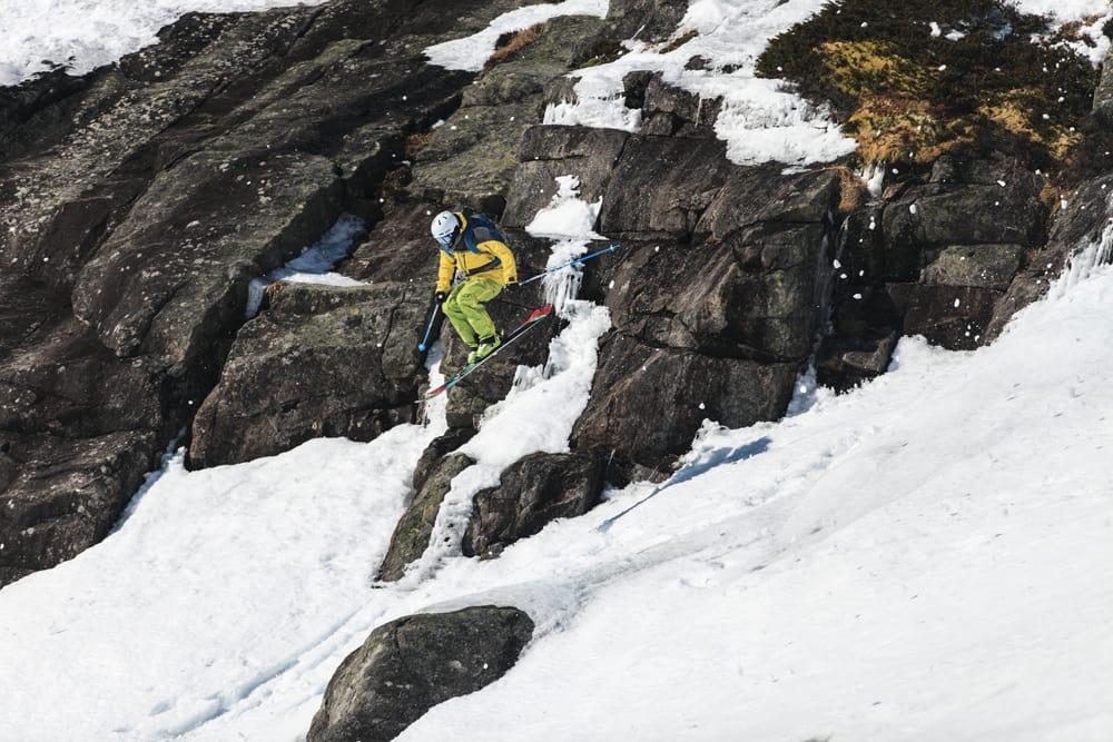 HUCK: Svein Olav Lien i aksjon under fjorårets konkurranse. Foto: Anders Vinje.