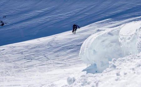 360-SPESIALIST: Stinius Hoseth Skjøtskift er spesialist på 360 ut klipper, og det kan bli nøkkelen hans for å sikre sammenlagtseier i norgescupen i frikjøring. Foto: Martin Bøe