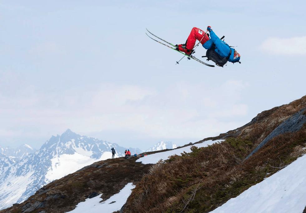 HARDT SATSA: Godt nivå i dagens renn. Her: Bjarte Selsaas. Foto: Kyrre Buxrud/X2