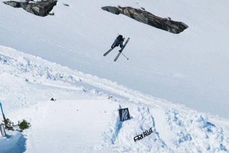 SNART SLUTT: Det var fine forhold under Strynefestivalen den første helga i juni, men nå nærmer det seg slutten for årets skisommer på Stryn. Foto: Anders Vestergaard