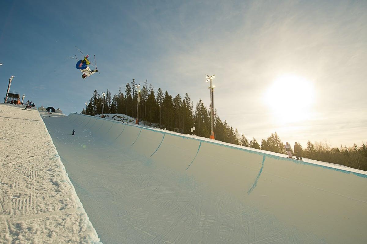 AVVIKLES: Superpipen i Wyller avikles til fordel for big air denne vinteren. Arkivfoto: Vegard Breie