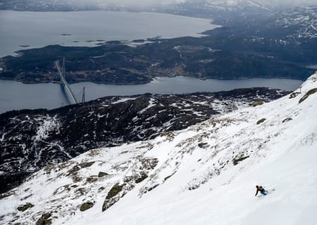 Seniorkonkurransen ble en god test av om det utvalgte konkurranseområdet fungerte til formålet. Foto: Rune Dahl