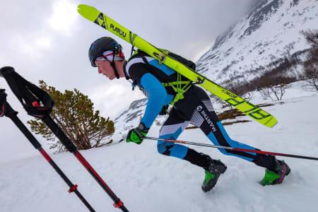 For Sondre Svensli ble sesongens siste randokonkurranse en opptur og påminnelse om hvor artig han synes grenen er. Foto: Enern Oppdal