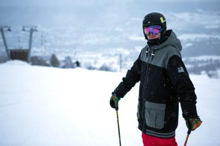 VETERAN: Med 21 år på baken og seier i sin første konkurranse på to år kan man trygt si at veteran Vebjørn Svorkmo er tilbake. Foto: Tore Meirik