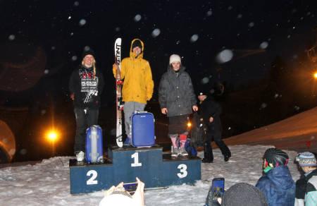 Nina Rusten ble best av jentene, foran Vilde Johansen og Marina Johansen.
