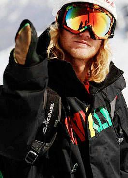 FRA CHILE: Tanner Hall sjekker inn på friflyt.no fra Chile. Foto: Hans Petter Hval
