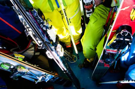KUN 10 PLASSER: Vi veit at det finnes flere enn skarve ti telemakkjørere i Norge. Kanskje det blir enda flere etter helga i Sogndal.