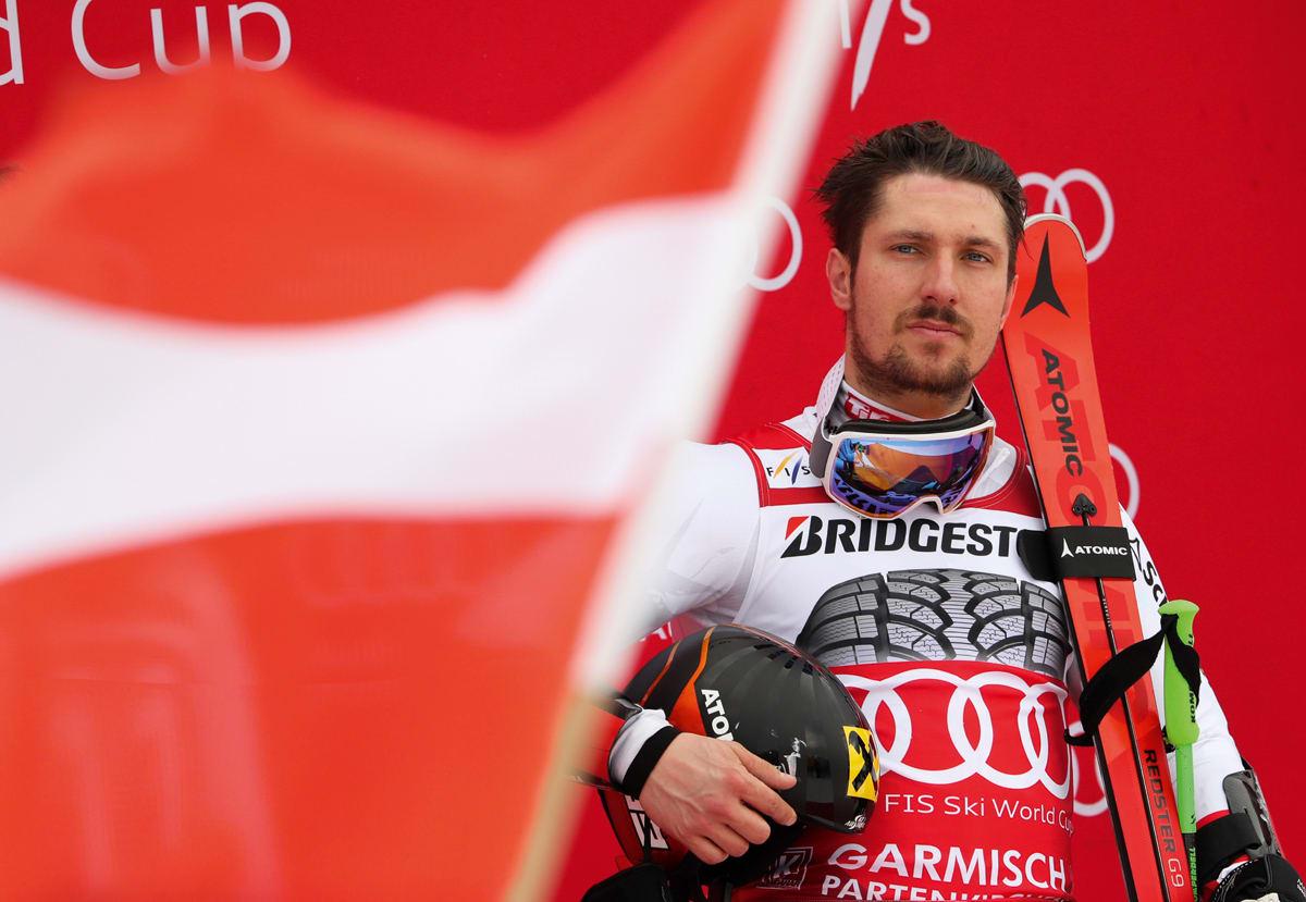 UNIK: Sju sesonger på rad har Marcel Hirscher vunnet verdenscupen i alpint sammenlagt. Ingen andre utøvere har noen gang vært i nærheten av Hirschers stabile og høye nivå i slalåm og storslalåm. Foto: Stephan Jansen