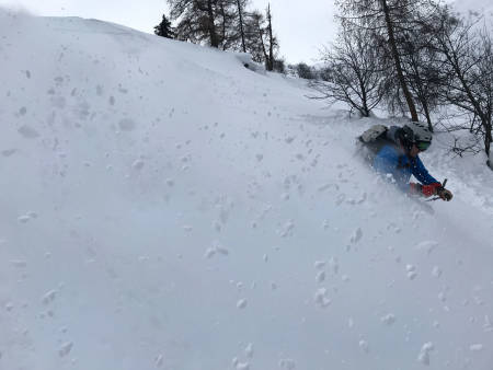 TIDENES SESONGSTART: Det var vanvittige snømengder og nydelige forhold i Østerrike i starten av vinteren. Foto: Martin Bruseth