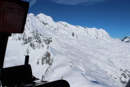 Rumbeling Glacier og Mount Tantalus