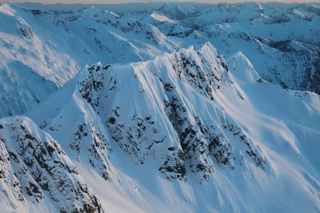 Utsikt fra hyttevinduet