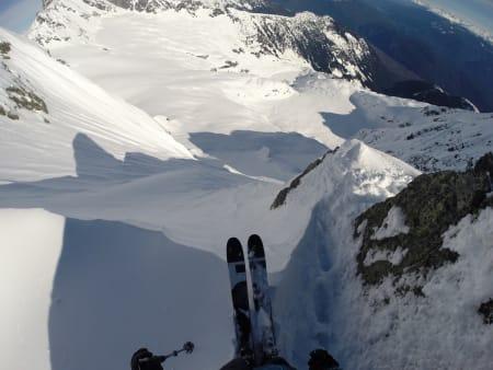 Godkjent terreng under skituppene!