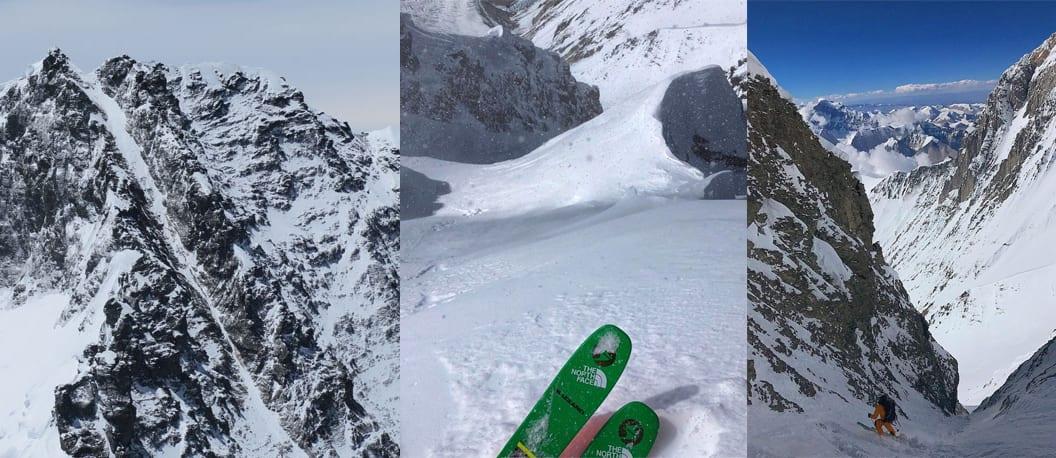 HISTORISK: 30. september kjørte to amerikanere ned renna på verdens fjerde høyeste fjell for første gang. Muligens verdens råeste skilinje.