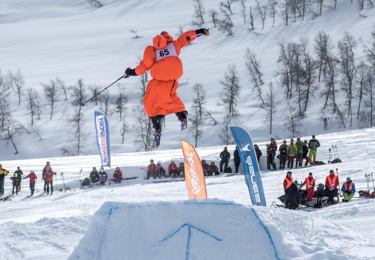 Konkurranser av ulike slag kommer tett som hagl gjennom hele Fjellsportfestivalen. Foto: Håvard Halvorsen