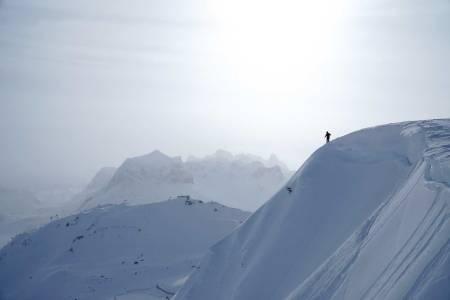 Frikjører i Arlberg