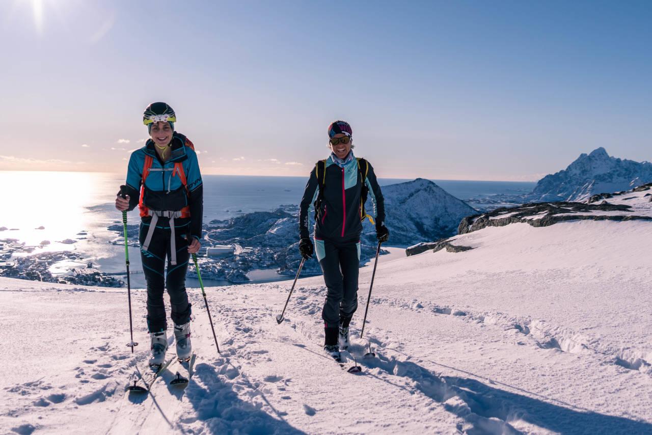 TREDJE UTGAVE: Alt ligger til rette for at årets utgave av Lofoten Skimo skal bli et flott arrangement. Foto: Martina Valmassoi