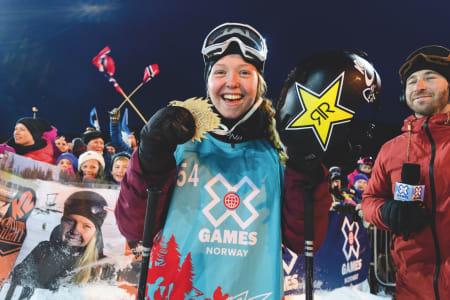 FAVORITT: Etter svært gode prestasjoner tidlig på sesongen er det ingen tvil om at Johanne Killi fra Dombås er blant favorittene i årets OL. Bilde: Brett Wilhelm