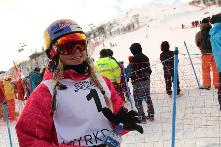 SKADET: Tiril Sjåstad Christiansen har skadet seg under trening i Breckenridge, og OL-deltagelsen kan stå i fare. Foto: Tore Meirik
