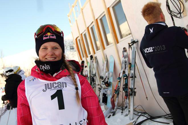 KLAR FOR OL: Tiril Sjåstad Chriastiansen og hennes halvgrodde korsbånd er påmeldt Sotsji-OL. Foto: Tore Meirik