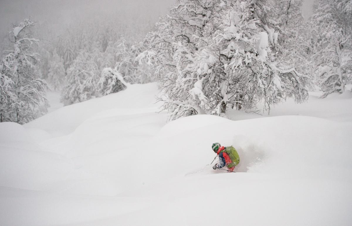 To meter snø på ei uke