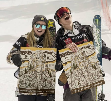 To norske på pallen i Mammoth