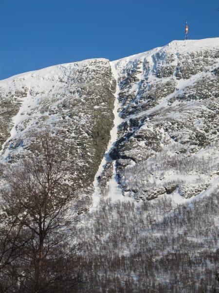 Storskaret på Ålmannberget i Oppdal