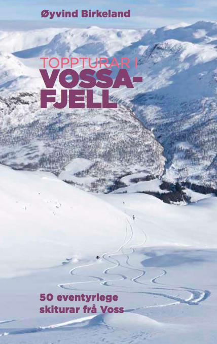 DEBUTANT: Vossingen Øyvind Birkeland er debutant på bokmarkedet, men boka handler om det han kjenner best - fjellene på hjemstedet Voss.