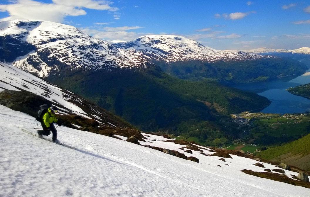 Topptursuksess på Stryn
