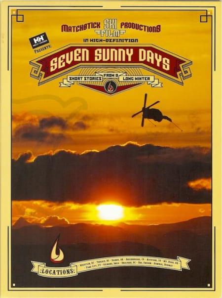 BUTTERS OG GRABBER: Seven Sunny Days - nok ikke tidenes film, men inneholdt et segment med TJ Schiller som påvirket mange!