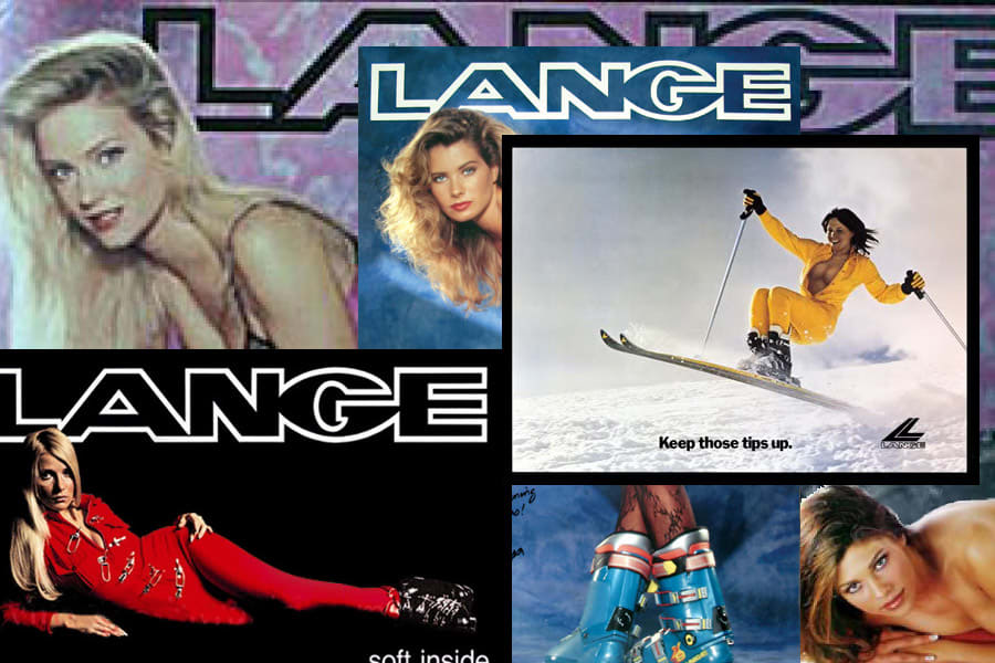 RETRO: LANGE var lenge kjent for lettkledde damer, noe de har tonet ned en smule, men Lange-pikene er unektelig sommerlige.