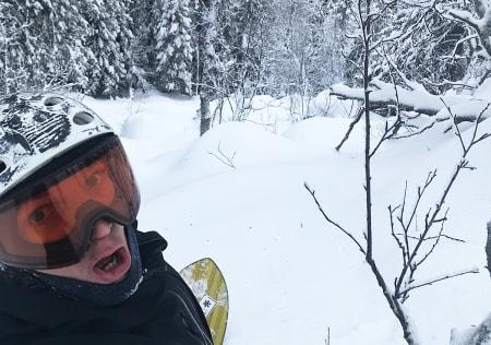 OPTIMIST: Torkel Karoliussen er Totteskog-entusiast, og han tror politikerne i Hemsedal vil avvise alle planer som innebærer ødeleggelse av frikjøringsområdet Totteskogen. Foto: Privat