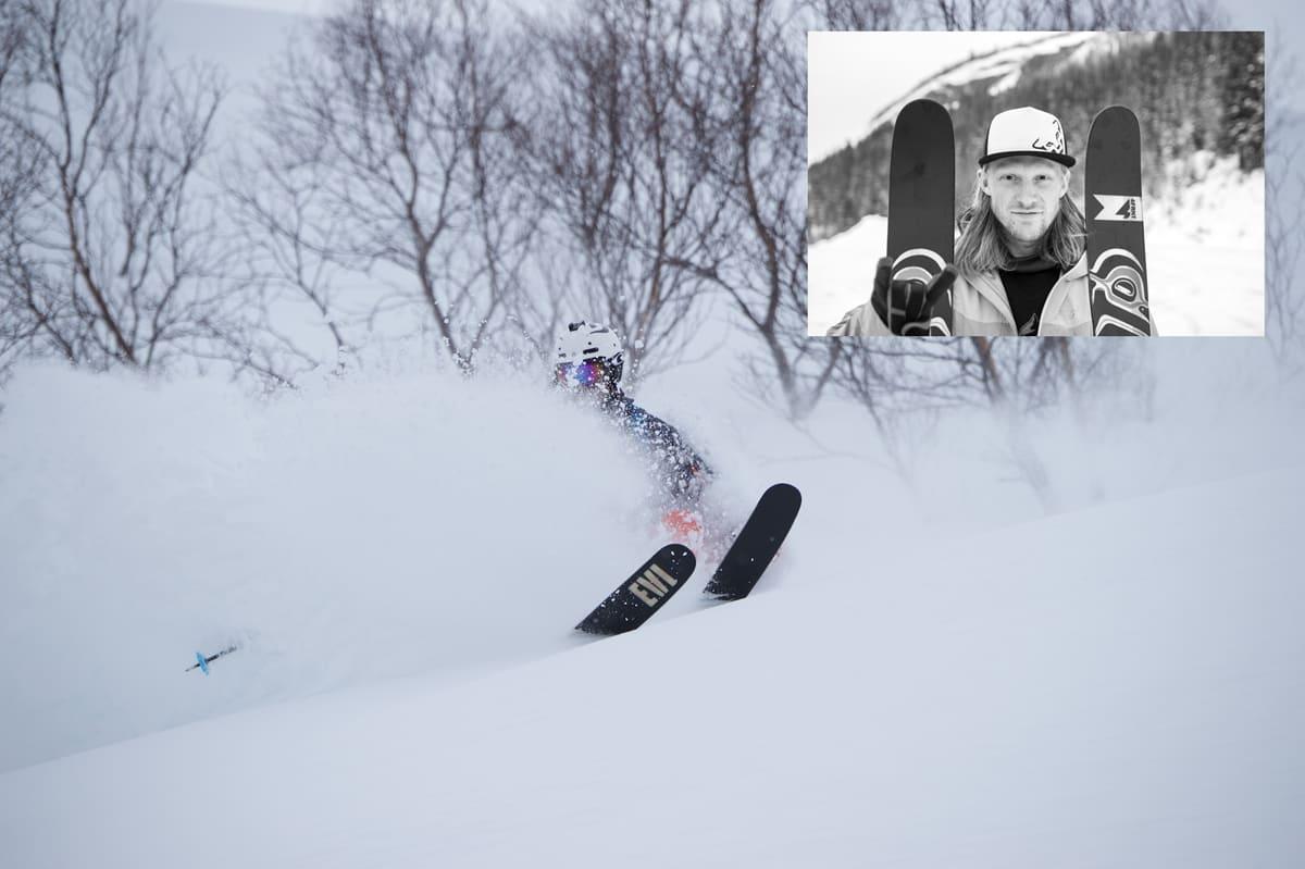 AKTIVE I OVERGANGSMARKEDET: Karsten Gefle og Trygg Lindkjølen (innfelt) er to av nokså mange frikjørere som har fått nye sponsoravtaler.