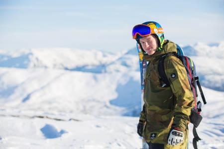 Omund Valde Sletten fra Vågå likte ikke så veldig godt å avslutte sesongen med et tryn. Foto: Tore Meirik