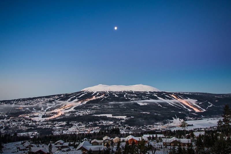 VANT REISELIVS-OSCAR: Trysil er stemt fram av bransjen som Norges beste skisenter. Foto: Ola Mattsson /Skistar Trysil