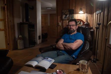 LOKALKJENT: Aadne Olsrud har bistått redningsmannskapene gjennom hele redningsaksjonen som har pågått siden 2. januar. Foto: Øistein Norum Monsen, Dagbladet