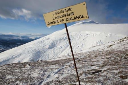 Utenfor alpinanleggenes ansvarsområde